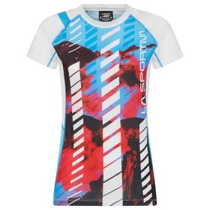 Draft T-Shirt W Malibu Blue/Hibiscus