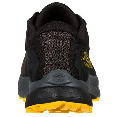 Karacal Black/Goji Hombre - Zapatilla Trail Running La Sportiva