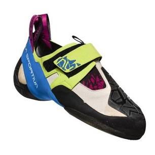 Skwama Apple Green/Cobalt Blue Mujer - Pie de Gato Escalada La Sportiva