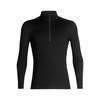 260 Tech Ls Half Zip  Hombre -  Camiseta Nieve Icebreaker