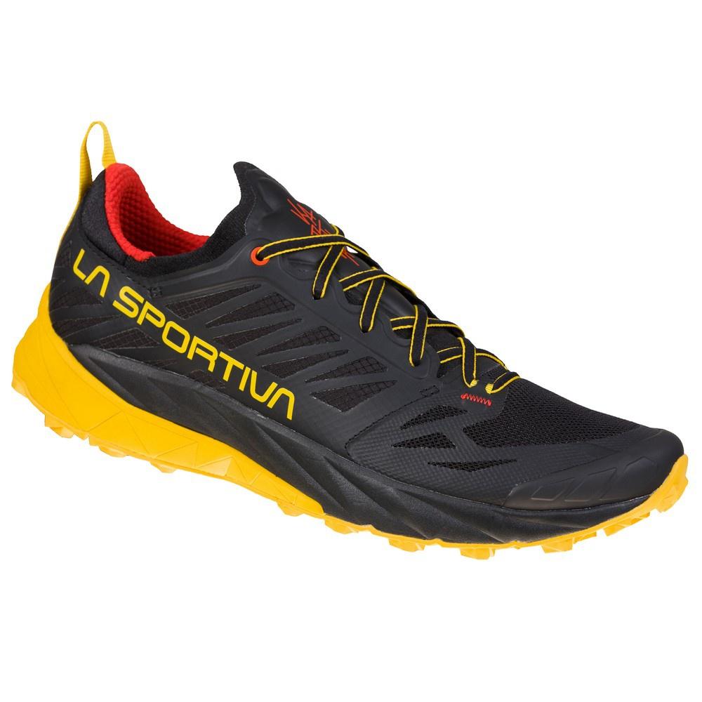 Kaptiva Black/Yellow Hombre - Zapatilla Trail Running La Sportiva