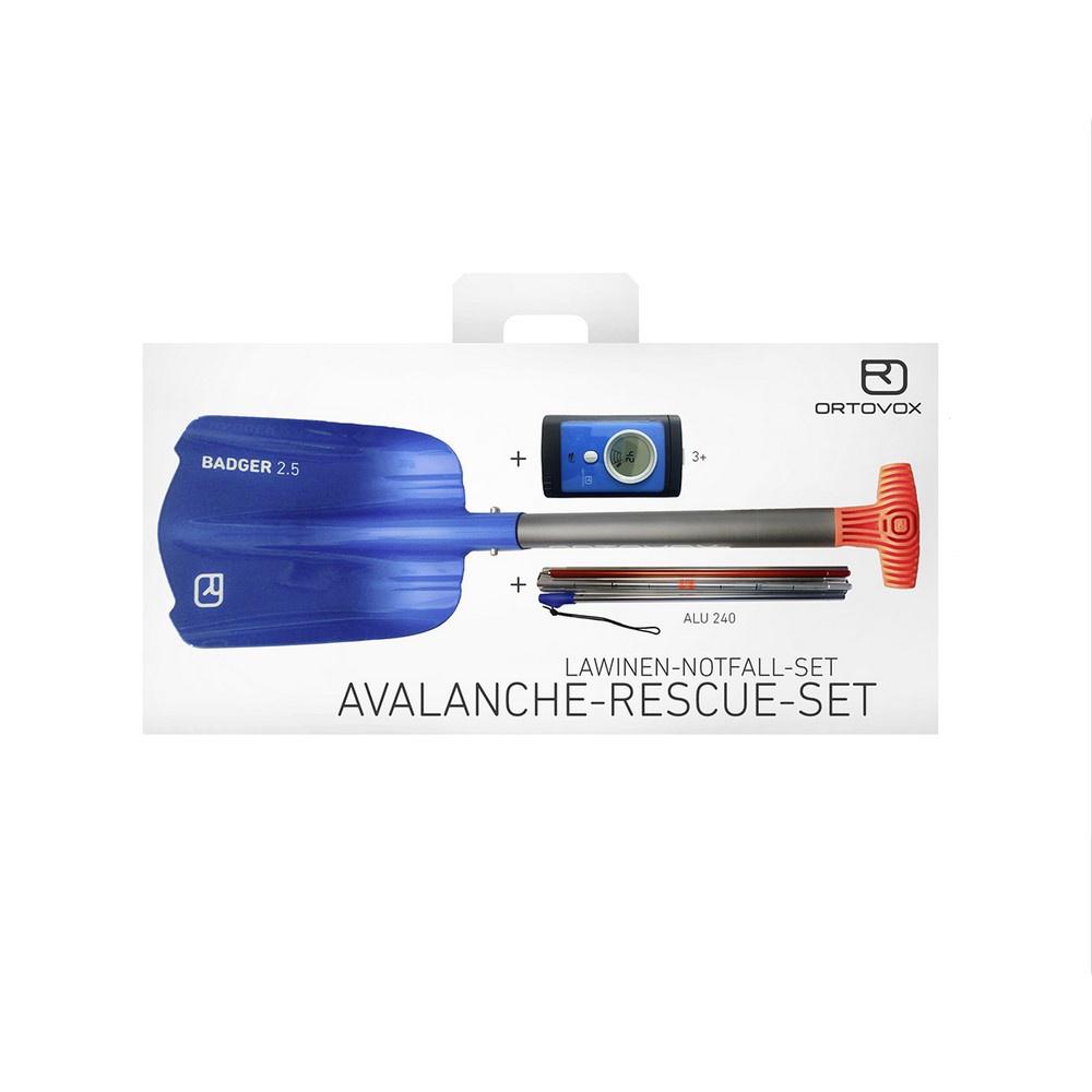 Avalanche Rescue Set 3+ Arva, Pala y Sonda - Nieve Seguridad Ortovox