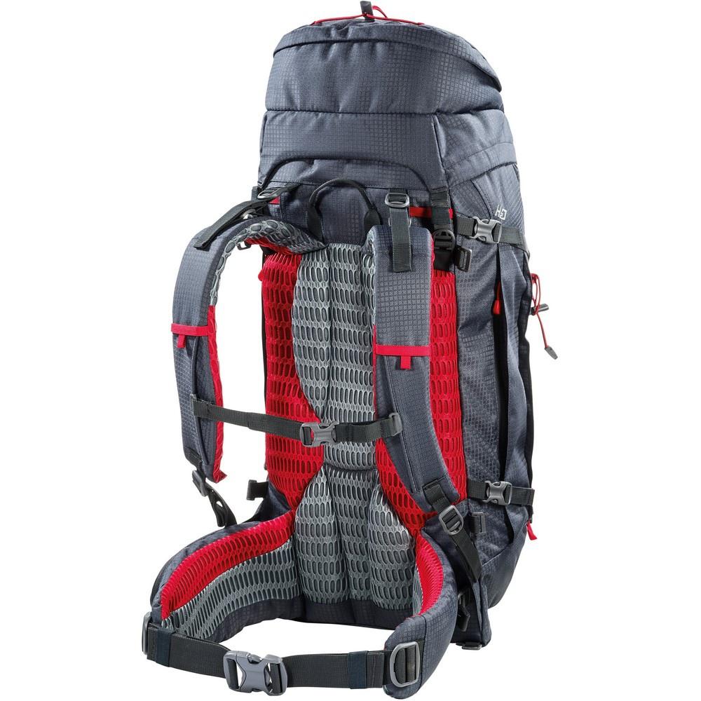 Overland 50+10 Dark Grey - Mochila Trekking Ferrino