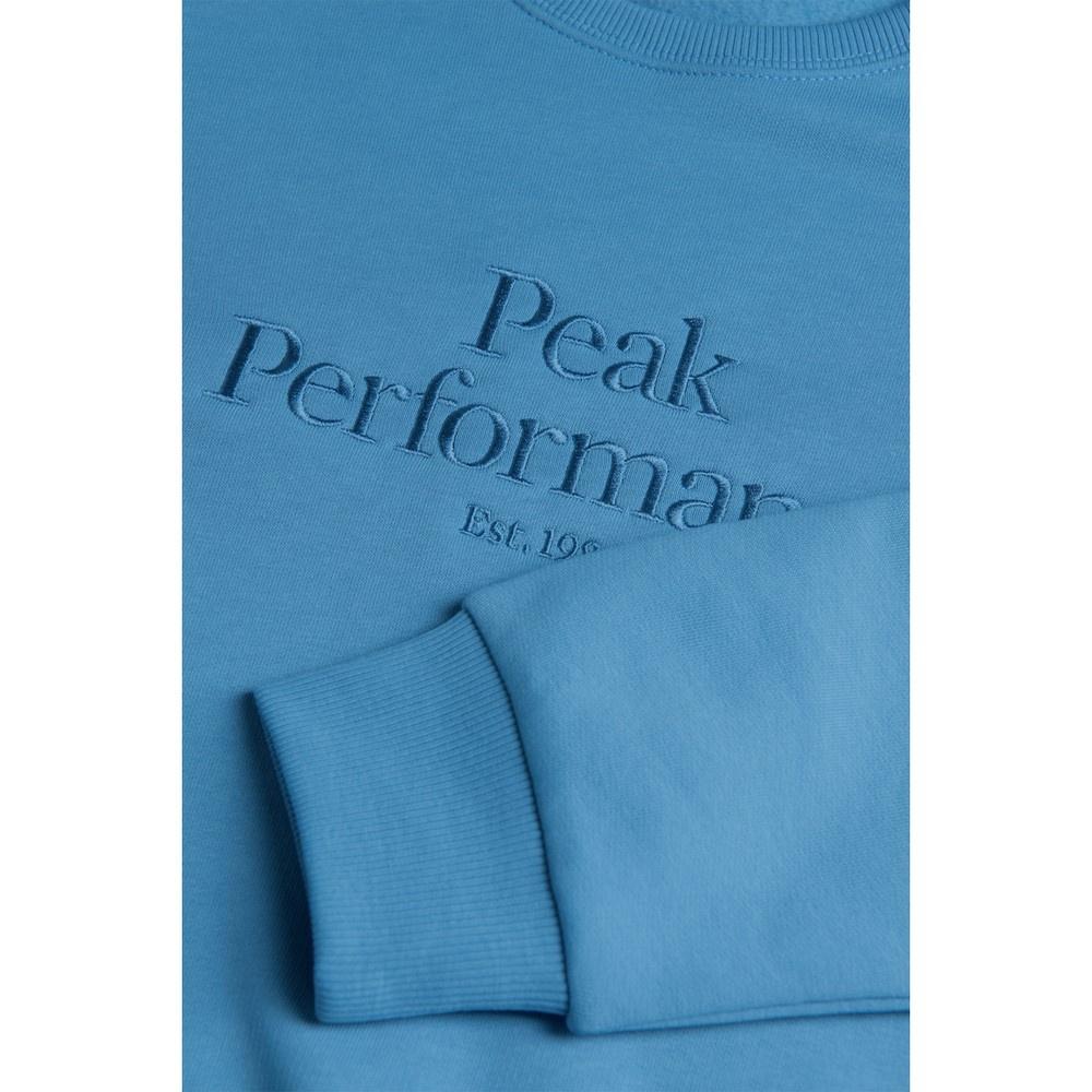 Original Crew Blue Elevat Mujer - Jersei Esquí Peak Performance