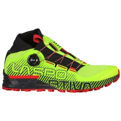 Cyklon Neon/Goji Hombre - Zapatilla Trail Running La Sportiva