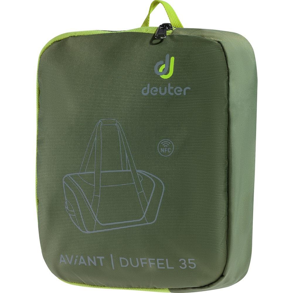 Aviant Duffel 35 - Mochila 35 litros Verde Trekking Deuter