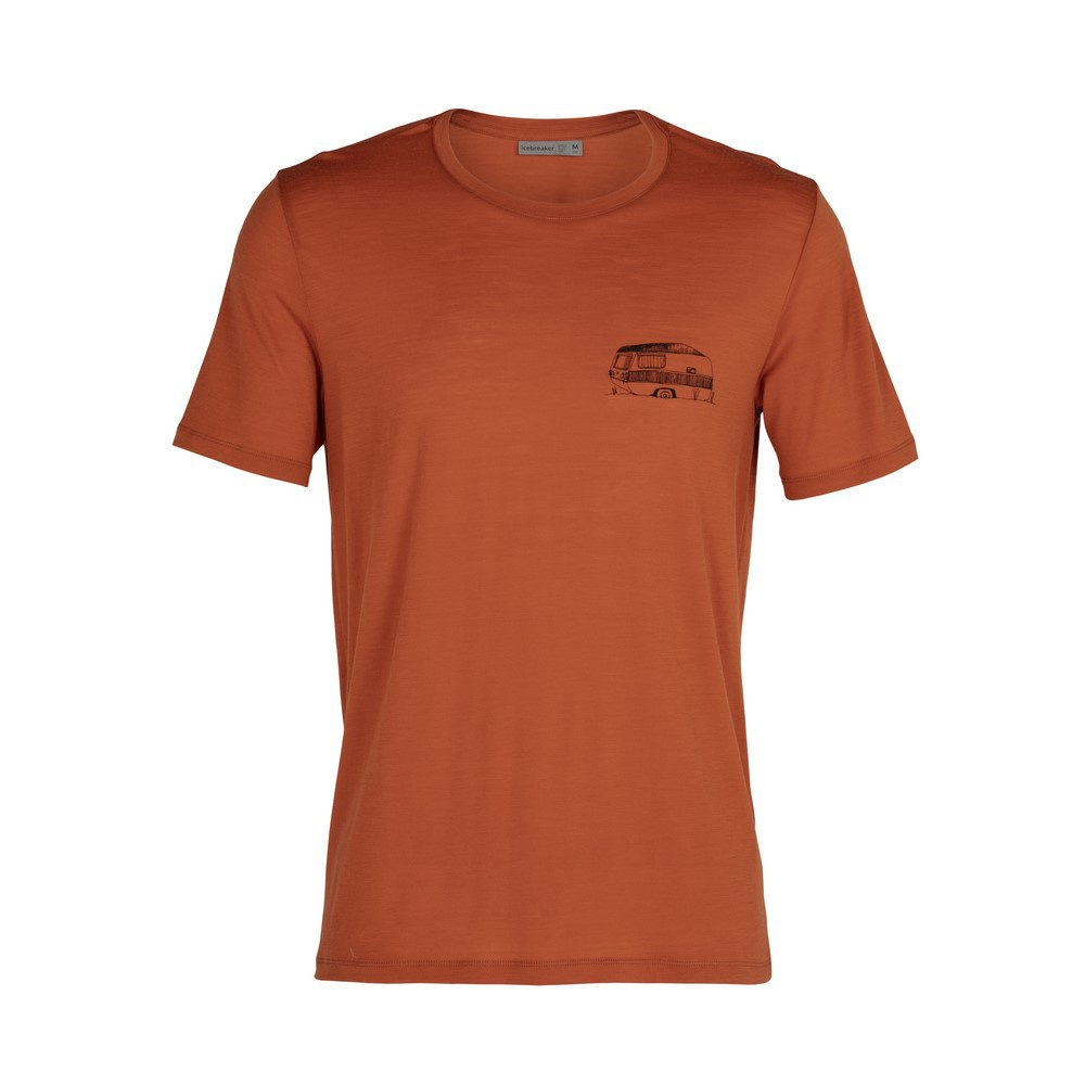 Tech Lite SS Crewe The Good Life Hombre - Camiseta Trekking Icebreaker
