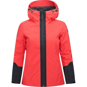 Rider Ski Polar Red Mujer - Chaqueta Esquí Peak Performance