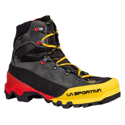 Aequilibrium LT Goretex Black/Yellow Hombre - Bota Alpinismo La Sportiva