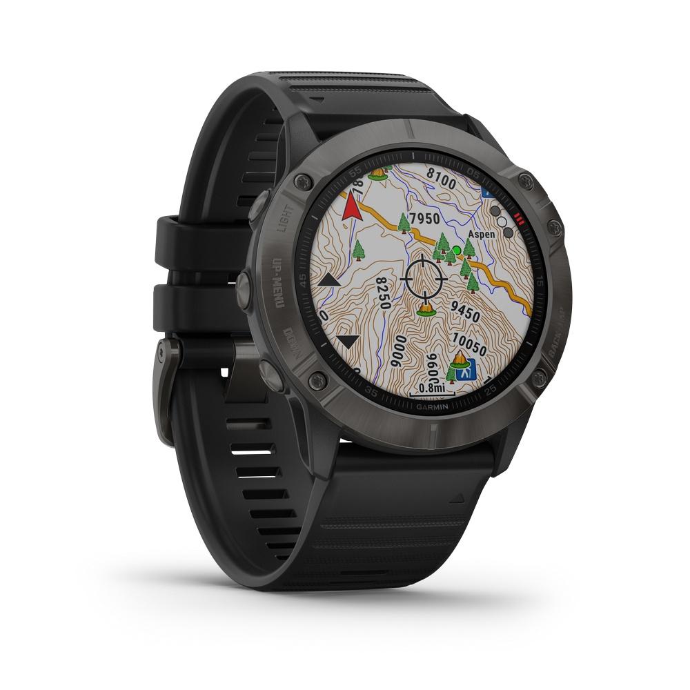 Fenix 6X Zafiro - Reloj Deportivo GPS Trailrunning Garmin