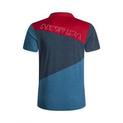 Vertical Block Zip Hombre - Camiseta Trekking Montura