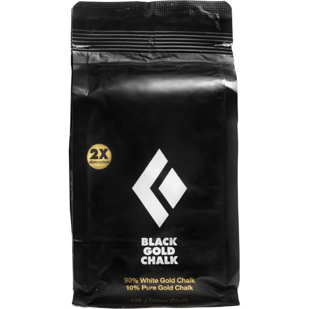 100G Black Gold Chalk - Magnesio Escalada Black Diamond