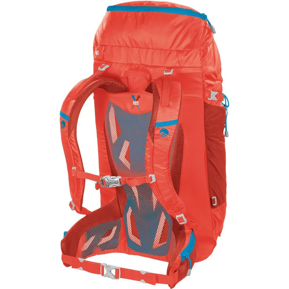 Agile 45- Mochila 45 litros Rojo Alpinismo Ferrino