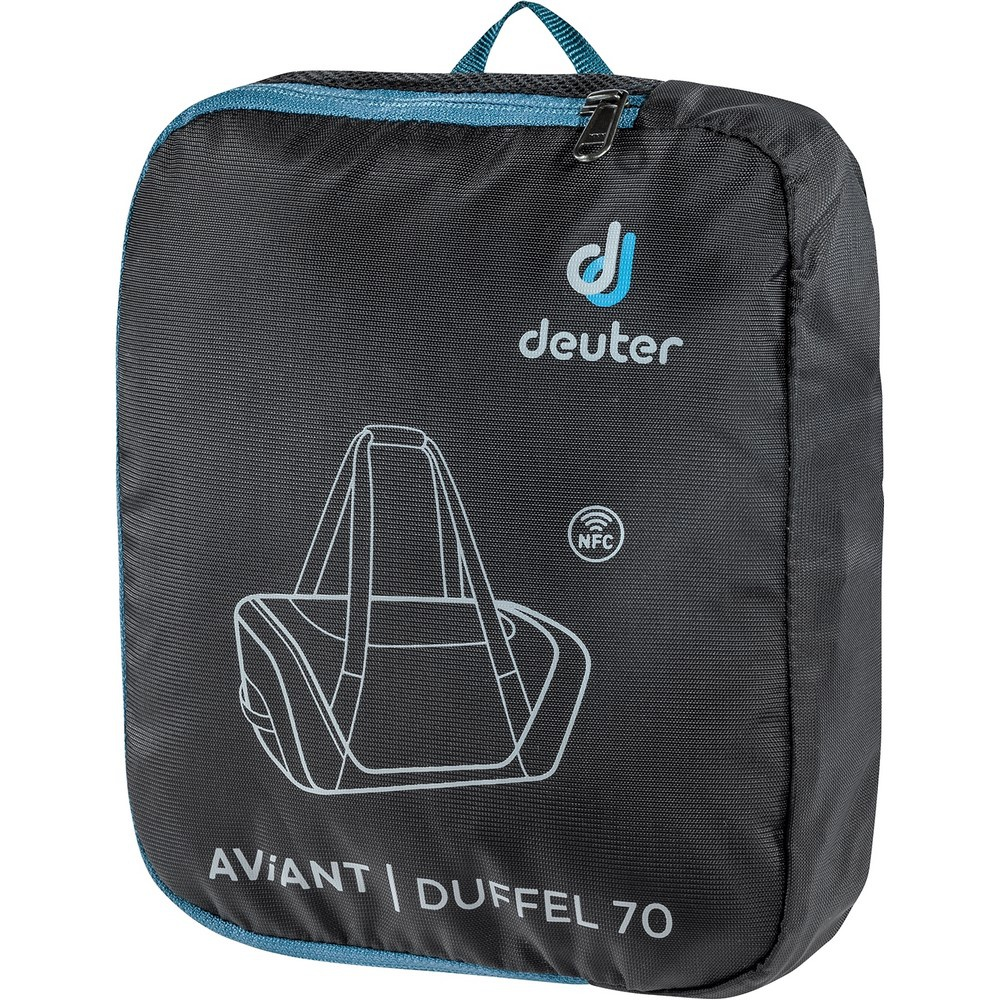 Aviant Duffel 70 - Mochila 70 litros Negro Trekking Deuter