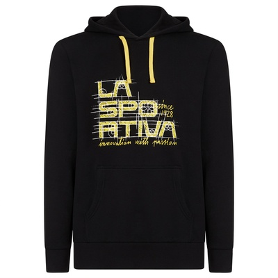 Project Hoody M Black/Yellow