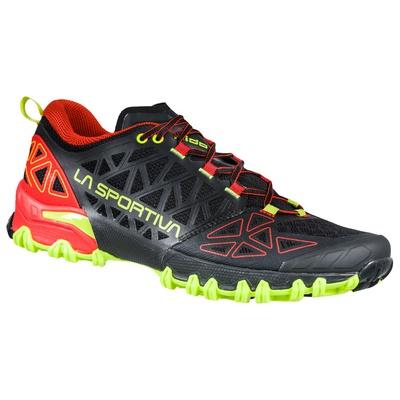 Bushido II Black/Goji Hombre - Zapatilla Trail Running La Sportiva