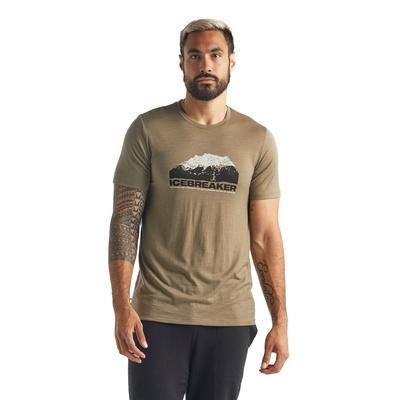 Tech Lite SS Crewe Icebreaker Mountain Hombre - Camiseta Trekking Icebreaker