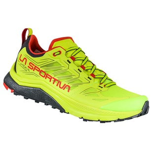 Jackal Neon/Goji Hombre - Zapatillas Trail Running La Sportiva