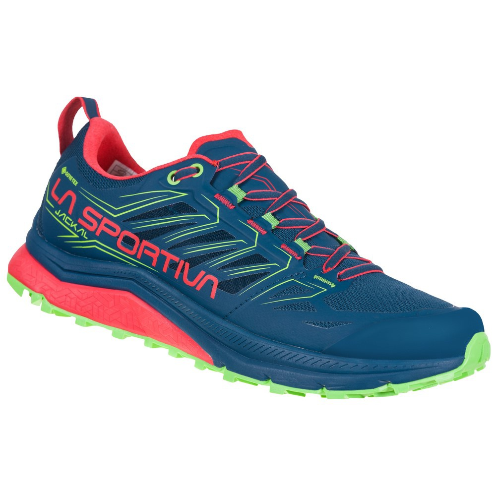 Jackal Goretex Opal/Hibiscus Mujer - Zapatilla Trail Running La Sportiva