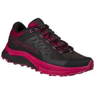 Karacal Black/Red Plum Mujer - Zapatilla Trail Running La Sportiva