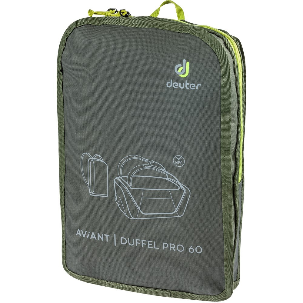 Aviant Duffel Pro 60 - Mochila 60 litros Verde Trekking Deuter