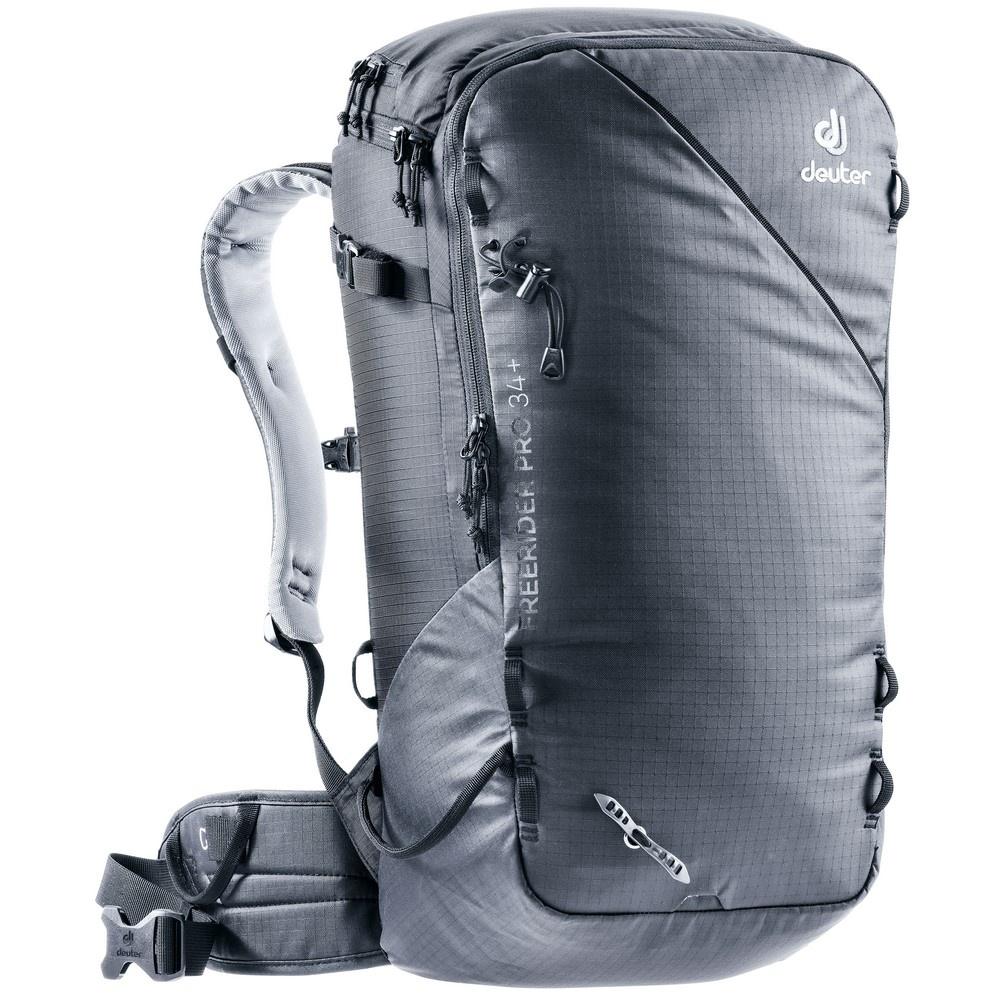 Freerider Pro 34+ - Mochila 34 litros Negro Nieve Deuter