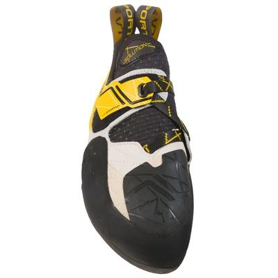 Solution hite/Yellow Hombre - Pie de gato Escalada La Sportiva