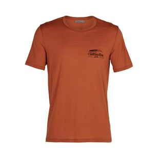 Tech Lite SS Crewe The Good Life Hombre - Camiseta Trekking Icebreaker