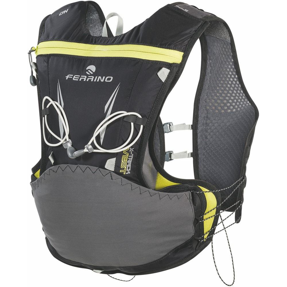 X-Track Vest - Mochila 5 litros Negro Trail Running Ferrino