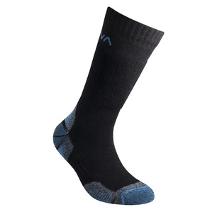 Kids Mountain Socks Black/Marine Blue