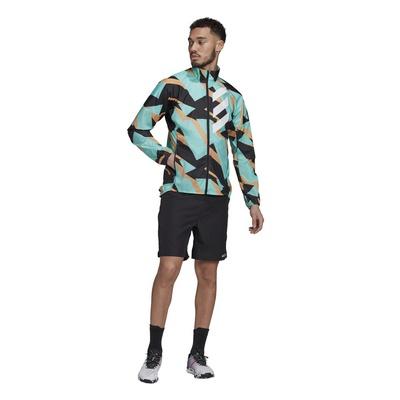 Agrind Jkt Hombre - Chaqueta Trail Running Adidas Terrex