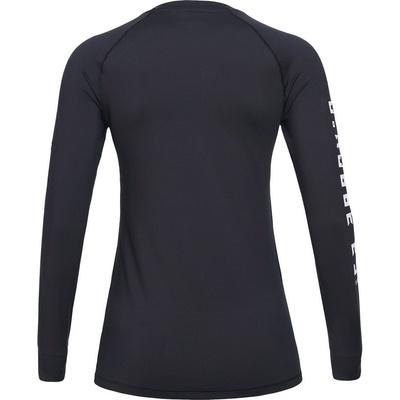 Spirit Crew Black Mujer - Camiseta Esquí Peak Performance