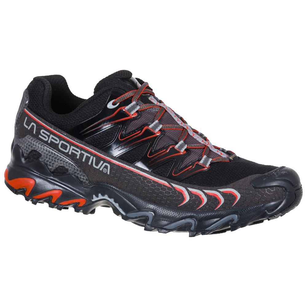 Ultra Raptor Goretex Black/Poppy Hombre - Zapatilla Trail Running La Sportiva