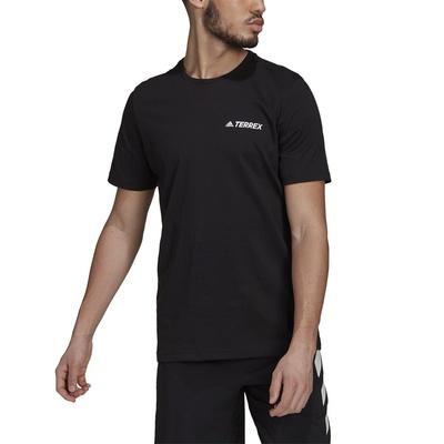Rocklogo Hombre - Camiseta Trekking Adidas Terrex