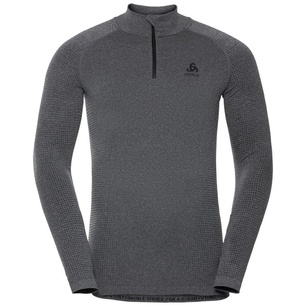 Performance Warm Eco Bl Top Turtle Neck Half Zip Hombre - Camiseta Esquí Odlo