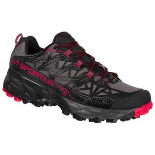 Akyra Goretex Black/Orchid Mujer - Zapatilla Trail Running La Sportiva