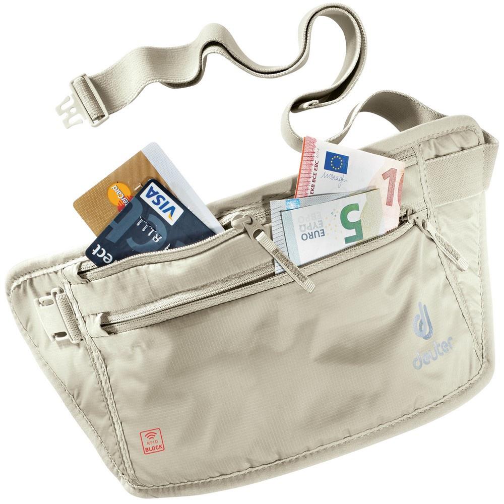 Security Money Belt II RFID BLOCK - Cinturón / Riñonera Viaje Deuter