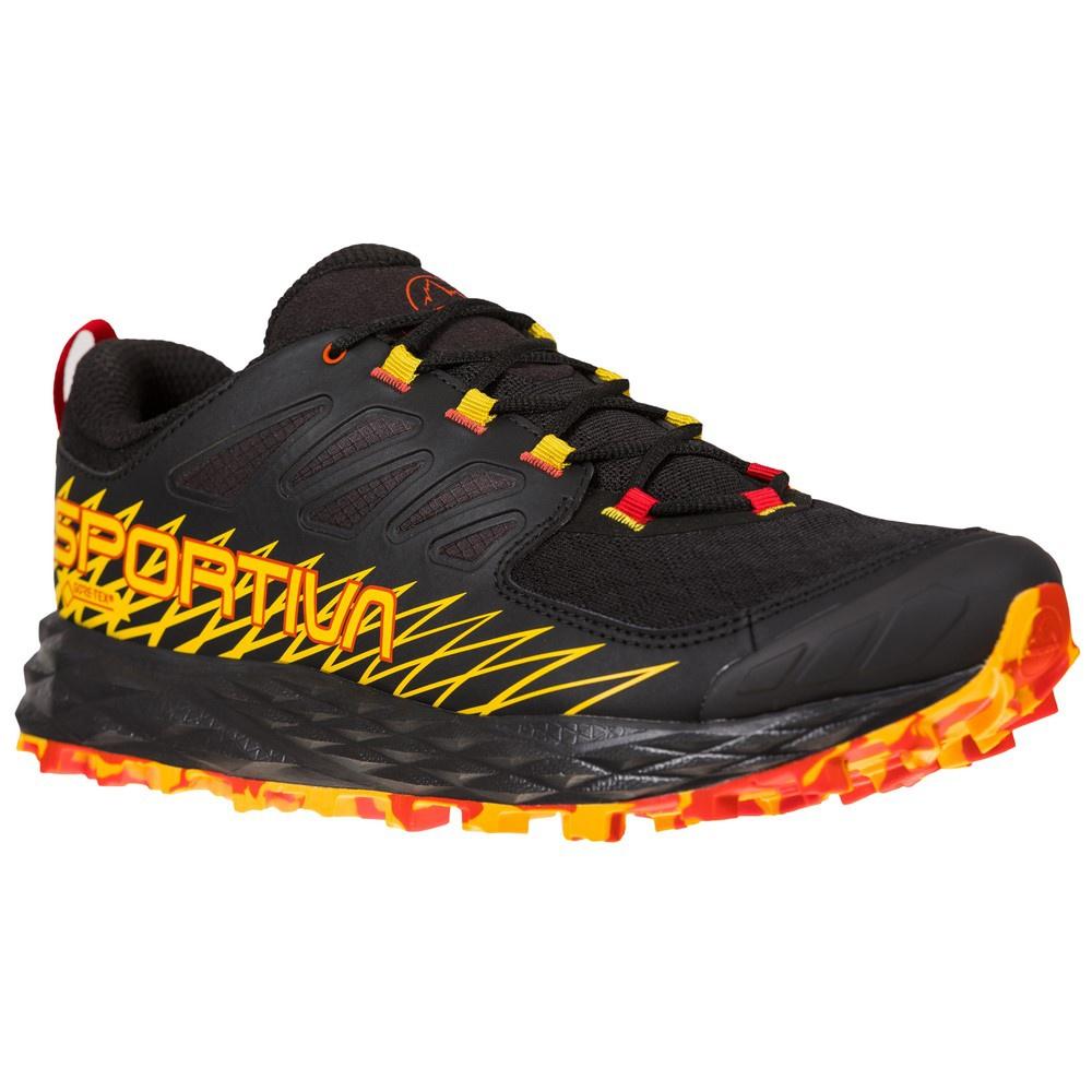 Lycan Goretex Black/Green Hombre - Zapatillas Trail Running La Sportiva