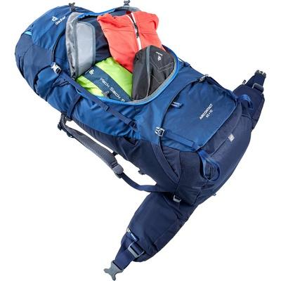 Aircontact 65 + 10 - Mochila 75 litros Azul Trekking Deuter