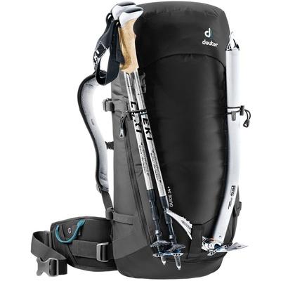 Guide 34+ - Mochila 34 litros Negro Alpinismo Deuter