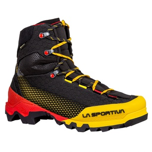 Aequilibrium ST Goretex Black/Yellow Hombre - Botas Alpinismo La Sportiva