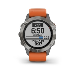 Fenix 6 Zafiro - Reloj Deportivo GPS Trailrunning Garmin