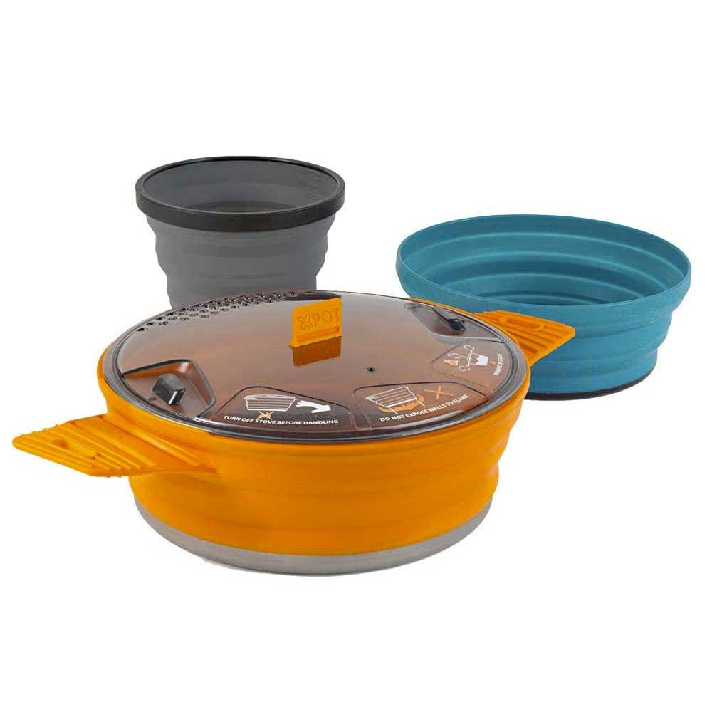 X-Set: 21 3pc (Pot, Bol and Mug) - Utensilios Acampada Sea to Summit