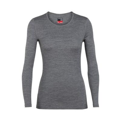 260 Tech LS Crewe Mujer - Camiseta Trekking Icebreaker