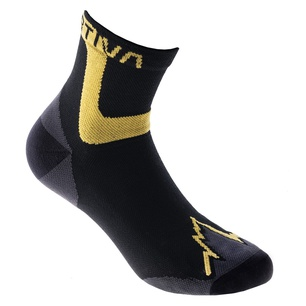 Ultra Running Socks Black/Yellow