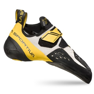 Solution hite/Yellow Hombre - Pie de gato Escalada La Sportiva