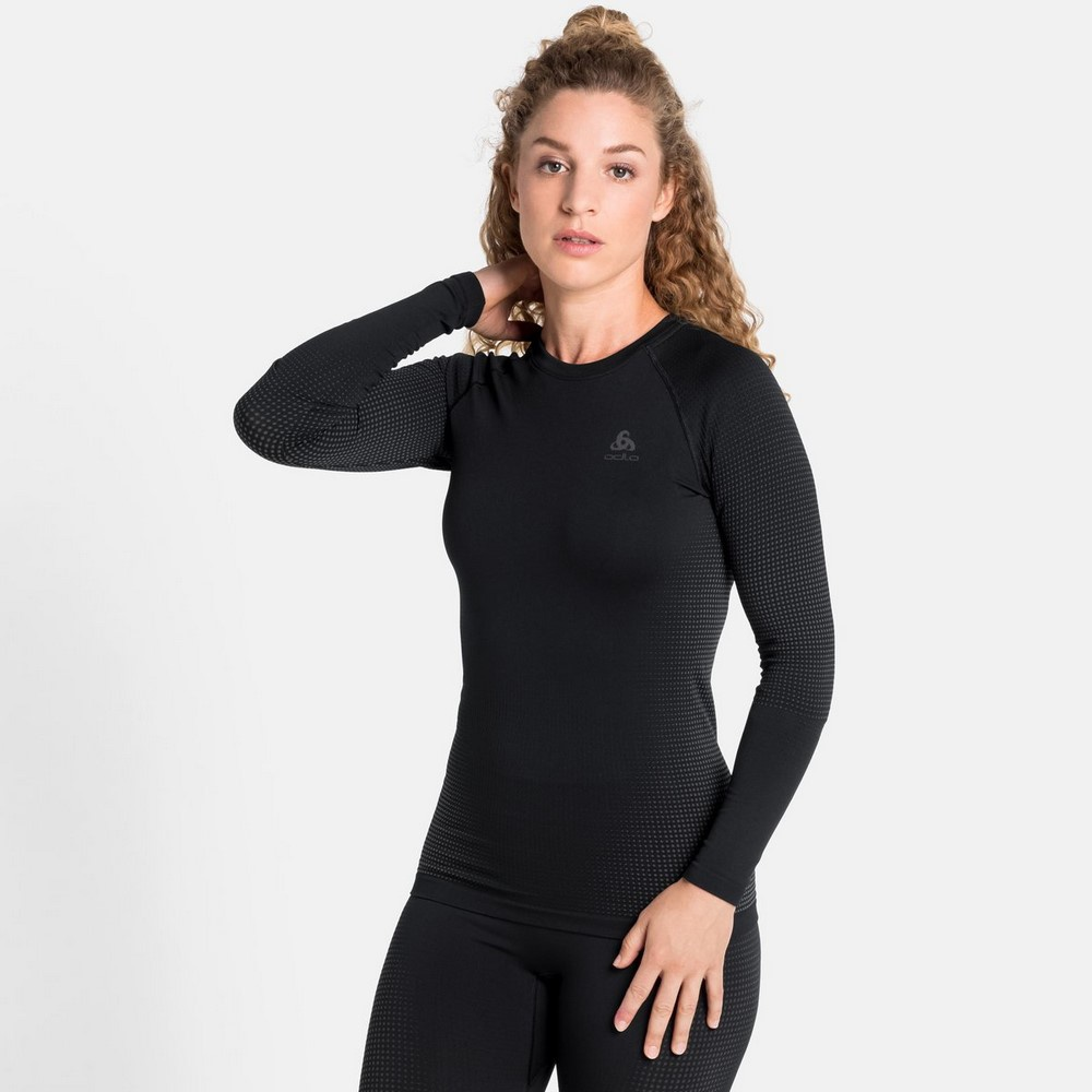 Performance Warm Eco Bl Top Crew Neck Mujer - Camiseta Esquí Odlo