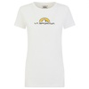 Footstep Tee W White