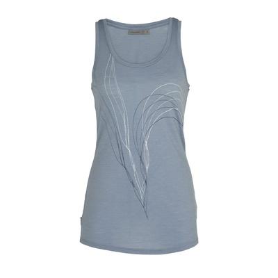 Spector Leaf Mujer - Camiseta Trekking Icebreaker
