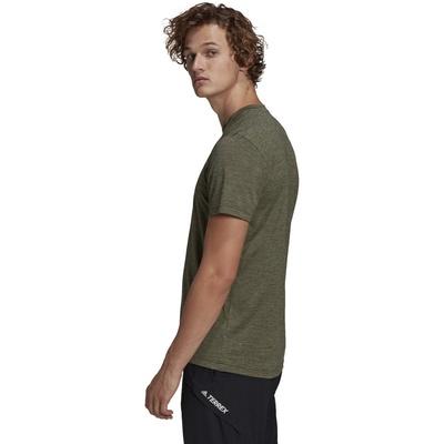 Tivid Hombre - Camiseta Trail Running Adidas Terrex